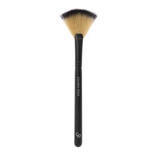 Golden Rose-Fan Brush - Kontrafouris Cosmetics