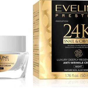 24K SNAIL & CAVIAR NIGHT CREAM - Kontrafouris Cosmetics