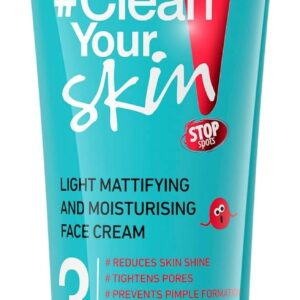 CLEAN YOUR SKIN LIGHT MATTIFYING & MOISTURISING FACE CREAM-Kontrafouris Cosmetics