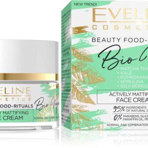 BIO VEGAN ACTIVELY MATTIFYING DAY AND NIGHT FACE CREAM-Kontrafouris Cosmetics