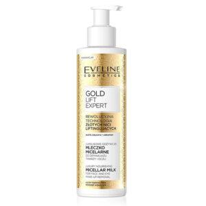 GOLD LIFT EXPERT LUXURY NOURISHING MICELLAR FACE& EYE MILK - Kontrafouris Cosmetics