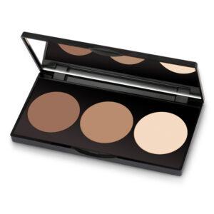 Golden Rose Contour Powder Kit-Kontrafouris Cosmetics