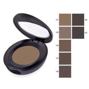 Golden Rose Eyebrow Powder -Kontrafouris Cosmetics
