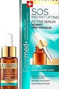 SOS ACTIVE SERUM AGAINST DEEP WRINKLES 100% HYALURONIC ACID-Kontrafouris Cosmetics