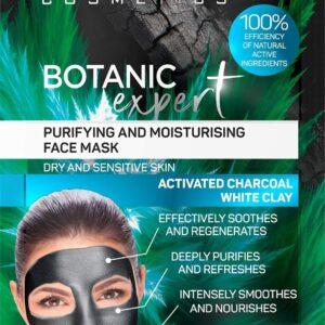 BOTANIC EXPERT PURIFYING AND MOISTURISING FACE MASK-Kontrafouris Cosmetics