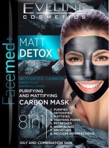 MATT DETOX PURIFYING AND MATTIFYING CARBON MASK-Kontrafouris Cosmetics