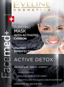 PURIFYING FACE MASK WITH ACTIVATED CARBON-Kontrafouris Cosmetics