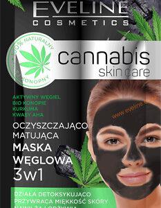 CANNABIS SKIN CARE PURIFYING AND MATTIFYING CHARCOAL MASK-Kontrafouris Cosmetics