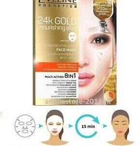 24K GOLD NOURISHING ELIXIR ULTRA-REVITALIZING FACE MASK-Kontrafouris Cosmetics