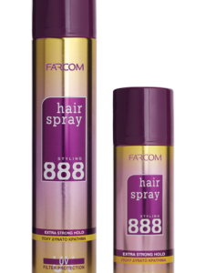 888 Hair Spray – Extra Strong Hold-Kontrafouris Cosmetics