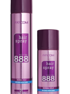 888 Hair Spray – Normal Hold-Kontrafouris Cosmetics