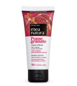 MEA NATURA Pomegranate Hand Cream Anti-Ageing & Skin Radiance-Kontrafouris Cosmetics
