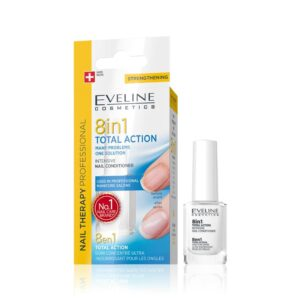 Eveline Nail Therapy 8 in 1 Total Action-Kontrafouris Cosmetics