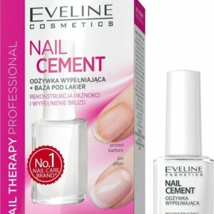EVELINE NAIL THERAPY CEMENT CONDITIONER & BASE COAT-Kontrafouris Cosmetics