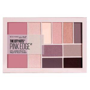 Maybelline The City Kits Eye Cheek Palette Pink Edge Eyeshadow-Kontrafouris Cosmetics