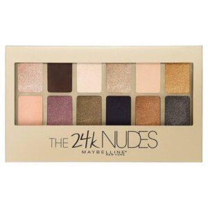 Maybelline The 24 Karat Nudes Eyeshadow Palette-Kontrafouris Cosmetics