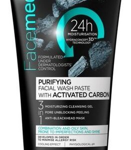 Eveline- FACEMED+ Purifying Facial Wash Paste With Activated Carbon-Kontrafouris Cosmetics