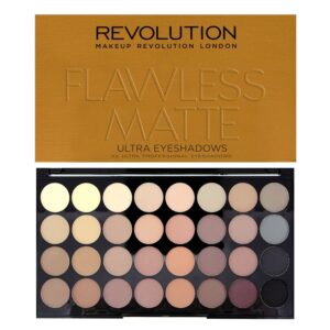 Revolution Eyeshadow Palette Flawless Matte-Kontrafouris Cosmetics
