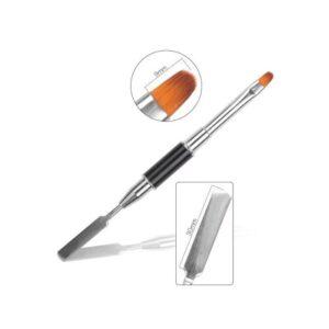 TRENDY-Πινέλο για Acrygel με Σπάτουλα FNB-26-Kontrafouris Cosmetics